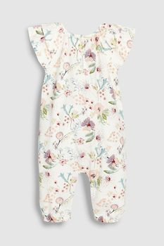 030144d00 Buy Ecru Floral Jersey Playsuit (0mths-2yrs) from the Next UK online shop.  Next Girls ClothesBaby Kids ...