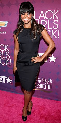 Gabrielle Union's LBD has great details - like lacy shoulders and a defined waist. http://www.peoplestylewatch.com/people/stylewatch/gallery/0,,20639039,00.html#