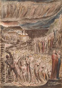 The Vestibule of Hell and the Souls Mustering to Cross the Acheron, William BLAKE - NGV