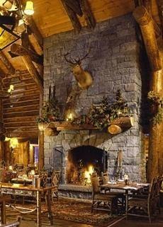 Large Stone Fireplace stone+fireplace+hearth+ideas | large stone fireplace with angled