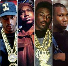 Rakim, Kool G.Rap, Big Daddy Kane & Krs One