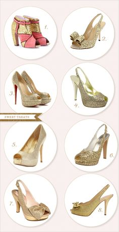 sparkly shoes #wedding