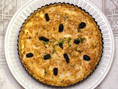 A Tunisian Tuna Tart with black olives thyme & preserved lemon Tunisian Food, Tasty Kitchen, World Recipes, Good Enough To Eat, Easy Food To Make, International Recipes, Seafood Recipes, Tuna, Yummy Food