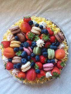 Sweet Cakes, Let Them Eat Cake, Yummy Drinks, Cake Cookies, Fruit Salad, Acai Bowl, Cake Recipes, Cake Decorating, Sweet Treats