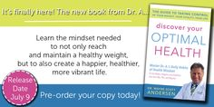 Check out the video of Dr. A talking about his new book, Discover Your Optimal Health, and pre-order your copy today! https://www.facebook.com/TakeShapeForLife/app_364041783617057