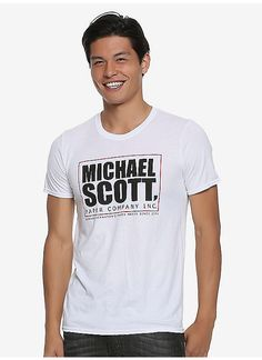 a4c115c3 BoxLunch : The Office Michael Scott Paper T-Shirt - BoxLunch Exclusive  Michael Scott Paper