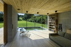 Cajthamlova Marketa Architect: Domek v Buši: Beautiful Interiors, Beautiful Homes, Weekend House, My Pool, Old Houses, Arches, Home Projects, Architecture Design, Landscape Architecture