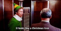 Click here for the pros and cons of dating Buddy the Elf!
