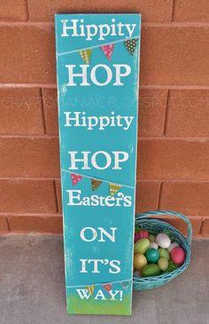 Easter Sign - Pretty cute!