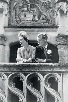Edward VIII and Wallis Simpson on their Wedding Day.