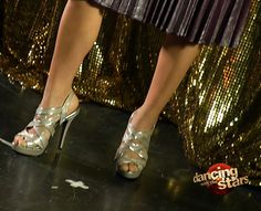 ¡Miren estos zapatos! Falta poco para Dancing with the Stars!