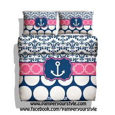 About anchor bedding on pinterest nautical bedding beach bedding