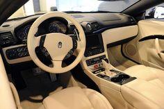 Dashboard Maserati Grancabrio