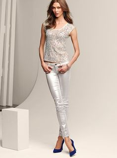 VS Siren Legging Jean in Metallic #VictoriasSecret http://www.victoriassecret.com/clothing/pants/vs-siren-legging-jean-in-metallic?ProductID=70331=OLS=true?cm_mmc=pinterest-_-product-_-x-_-x