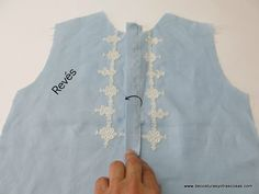www.decosturasyotrascosas.com Crochet, Fashion, Openness, Shirt Collars, Blouses, High Fashion, How To Make, Sleeves, Sewing Lessons