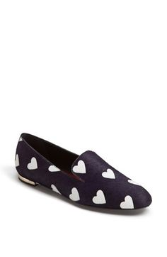 Love these cute heart loafers! @Nordstrom