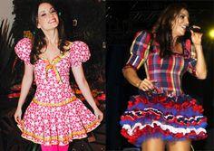 papo serio demulher: Vestidos para festa junina