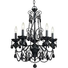 Dimensions 295hx24375wx24375d the traditional chandelier af lighting 7506 5h mischief five light chandelier black metal aloadofball Image collections