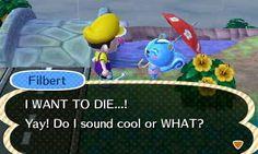Filbert, no. | 24 Rudest Things In Animal Crossing