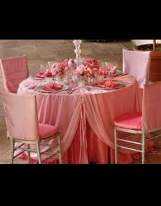 Marie Antionette Inspired Table Setting