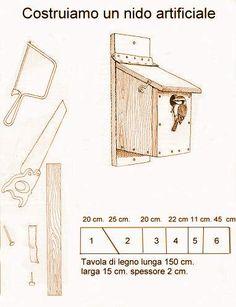 come costruire casette per uccelli | COSTRUIAMO UN NIDO PER I NOSTRI AMICI