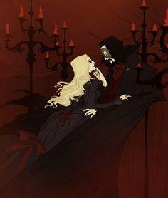 phantom of the opera abigail Larson Fantasy Kunst, Fantasy Art, Castlevania Dracula, Abigail Larson, Character Art, Character Design, Vampire Art, Goth Art, Creepy Art