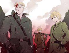 Hetalia England Germany America
