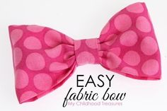Fabric Hair Bows, Fabric Ribbon, Fabric Flowers, Paper Flowers, Reuse Fabric, Fabric Bins, Cheer Hair Bows, Baby Hair Bows, Fabric Bow Tutorial