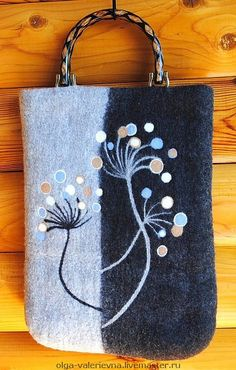 Сумка Маренго. - сумка,войлочная сумка,валяная сумка,серый,сумка ручной работы