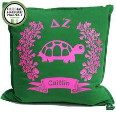 Sorority Logo Cushion - Delta Zeta