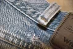 How to fix ripped belt loops on jeans. I have a pair that needs this...