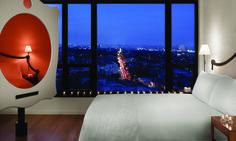 The super-stylish Mondrian Los Angeles hotel. www.secretearth.com/accommodations/283-mondrian-los-angeles