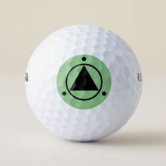 Golf Ball SACRED GEOMETRY black on leaf green Gifts For Golfers, Golf Gifts, Hole In One, Unusual Gifts, Golf Ball, Sports Equipment, Sacred Geometry, Cover Design, Balls