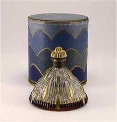 """1927 Perfume Bottle for Hudnut """"Les Cascades"""""""