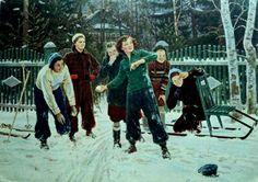 "Ю. М. Непринцев ""Наша взяла"" 1956"