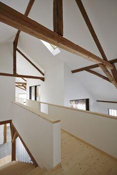 "Haus Laanz ""Stadl"", Parkstetten - ediundsepp – Lang Hugger Rampp Interior Architecture, Interior And Exterior, Interior Design, My Dream Home, Future House, Interior Inspiration, Living Area, Sweet Home, New Homes"