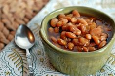 Vegetarian slow-cooker baked beans are easy to make, packing all the flavor of old-fashioned New England baked beans without the meat.