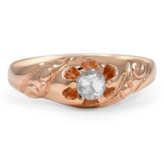 14K Rose Gold The Nicoletta Ring from Brilliant Earth