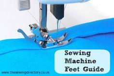 Seiwng for beginners - master your sewing machine feet