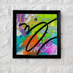 echnique: Acrylic below a sheet of acrylic Dimensions: 12 x 12 cm Abstract Expressionism, Abstract Art, Acrylic Sheets, Cursive, Art Studios, Graphic Art, Innovation, Original Art, Texture