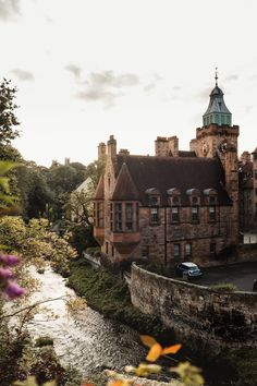 At the Dean Village in Edinburgh. Dean Village Edinburgh, England And Scotland, Beautiful Places To Travel, Scotland Travel, Travel Aesthetic, Where To Go, Places To See, Countryside, Travel Inspiration