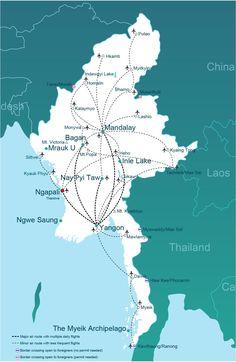 Getting to Ngapali Beach and Thandwe | Go-Myanmar.com