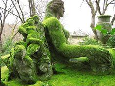 Bomarzo gardens Italy