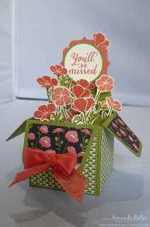 The Craft Spa - Stampin' Up! UK independent demonstrator : Wild About Flowers for Fancy Fold Friday