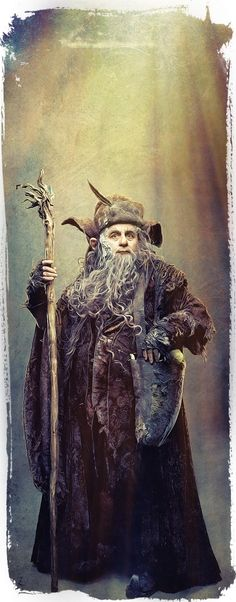 The Hobbit: Radagast by Gianfranco Gallo --- It has come to my attention that my pins of Radagast are low in number. Hence why you see so many pins of him right now.