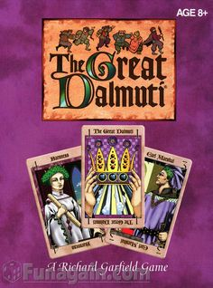 2014/15 wish list. The Great Dalmuti.  I've heard great things about this game. It's a great get-together (party)  game. Not expensive.