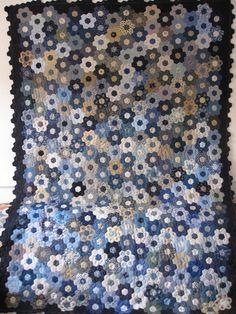 The Great Hexagon Quilt - Along: My Flower Garden
