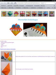 Boekenlegger Creative Kids, Art School, My Books, Crafts For Kids, Playing Cards, Logos, Reading, Fun, Journaling