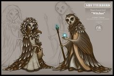 Owl witches #owl #witches #art