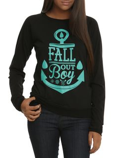Fall Out Boy Anchor Girls Pullover Top | Hot Topic